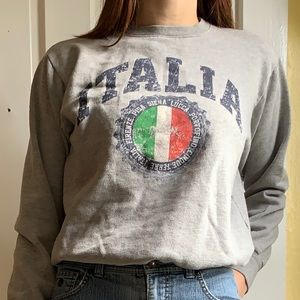Italia crewneck sweater